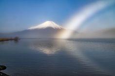 Fogbow on the Lake Yamanaka | by shinichiro*@OSAKA