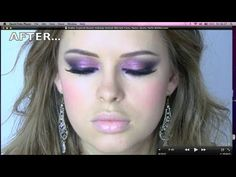 Arab inspired beauty makeup tutorial Myriam Fares, Nancy Ajram, Haifa Wehbe