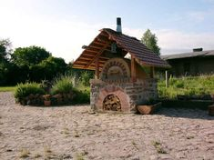 Sehr gutes DIY-Steinofen-Forum - diesen mit verlängertem, flacherem Dach als Sitzplatz?