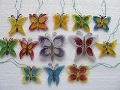 Motýlci quilling