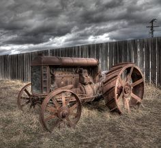 A great old tractor.