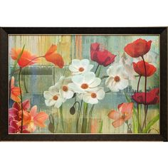 Found it at Wayfair - 'Field of Flowers' by Maria Donovan Framed Painting Print