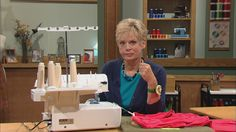 "Nancy teaches the ""hands-down easiest way"" to sew collars, corners, and sleeves."