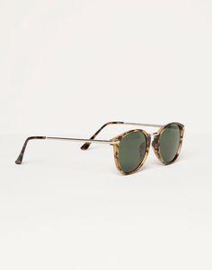 Pull&Bear - femme - accessoires - lunettes écaille style rétro - écaille - 05898311-V2016