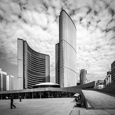 Toronto City Hall by Viljo Revell (1965). #toronto #canada #modernism #architecture by modarchitecture
