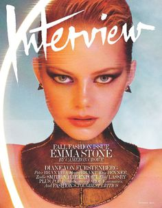 Emma Stone Lights Up Interview Magazines September Issue
