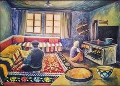 Bosnia, Painting, Rooms, Art, Bedrooms, Art Background, Painting Art, Kunst, Paintings