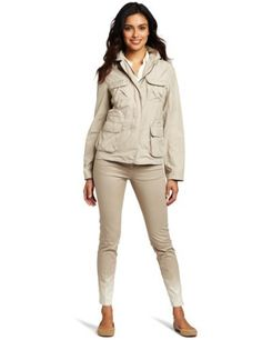 Kenneth Cole Women's Utility Jacket Kenneth Cole. $149.50. Lightweight. Machine Wash. Made in China. 100% Polyester; Lining: 92% Polyester/8% Spandex. Drawstring at waist