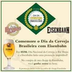 Dia da Cerveja Brasileira: Double Chopp Eisenbahn | Bar Brejas - Campinas - SP