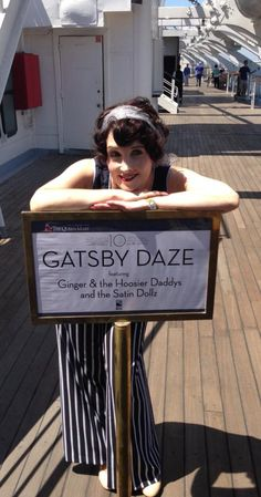 The best Hollywood gal...is our Boo-a-Doop Ginger Pauley !