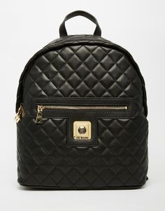 Image 1 of Love Moschino Quilted Backpack