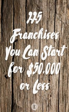 If you'd like to be your own boss without breaking the bank, look no further than these budget-friendly franchises Starting A Tshirt Business, Starting An Online Boutique, Starting A Podcast, Earn Extra Cash, Be Your Own Boss, Money Management, Good Books, Budgeting, Investing