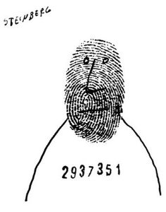 Chi è il digitale terrestre –  Saul Steinberg, Gag Man : The New Yorker