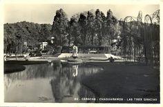 """CARACAS EN RETROSPECTIVA: Las Tres Gracias """"Plaza de Bellas Artes"""""""