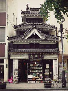 bookstore in Matsumoto,Japan