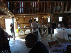 Rustic Barn Wedding--looks simple, comfortable