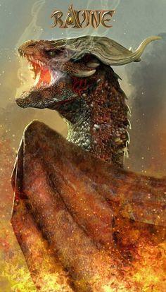 ravine-barahea, mother of fire by nebezial.deviantart.com
