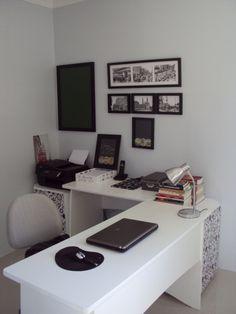 Home office - foto enviada por Eli Martins