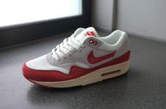 Nike Air Max 1 OG White/Varsity Red