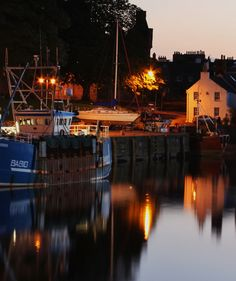 Kirkcudbright Harbour, Scotland by Photographer Barry Russell. Spend a lot of…