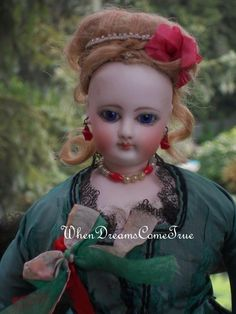 All Original Gaultier Poupee from doll shop WhenDreamsComeTrue member of Doll Shops United