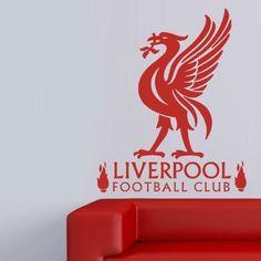 Liverpool Football Club Wall Art Sticker Vinyl Decal Various Sizes