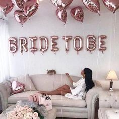 Items similar to Bride to be Balloon - 3 colors (Rose Gold - Gold - Silver) - Bridal Shower - Bachelorette party - Hen do - Bridal party - Bride to be party on Etsy Bachlorette Party, Bachelorette Party Supplies, Bachelorette Party Decorations, Bachelorette Weekend, Bachelorette Ideas, Bachelorette Party Pictures, Bride To Be Balloons, Bride Balloon, Wedding Balloons