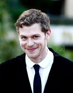 and the award for cutest smile goes tooo.. Joseph Morgan!