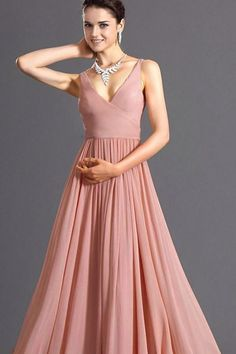29ede8be496 Women Pink Spaghetti Straps Pleated Wrap Zipper Sexy Maxi Party Dress - M  Prom Night Dress