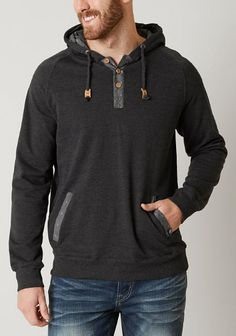 Ten Tree Boardwalk Henley Sweatshirt - Men's Clothing | Buckle
