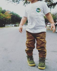 Olive NIKE High Top Air Forces BABY BOY SUPER DOPE !