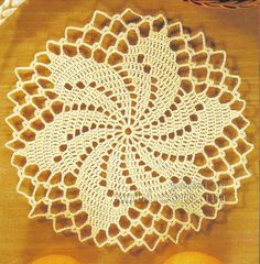 Crochet Coasters Beautiful lacy swirl crochet motif Doilies By joining these beautiful motifs we can get a Doily and by using more motifs we can get tablecloth or table runner The doily crochet pattern / diagram … Filet Crochet, Art Au Crochet, Beau Crochet, Crochet Diagram, Thread Crochet, Crochet Crafts, Motif Mandala Crochet, Free Crochet Doily Patterns, Crochet Squares