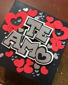 Todos los buenos deseos, los buenos recuerdos, una cantidad incontable de abrazos y besos los puedes enviar en una caja, expresándole todo el cariño a esa persona importante en tu vida….. Exploding Gift Box, Diy And Crafts, Crafts For Kids, Birthday Gifts For Best Friend, Bff Gifts, Diy Gifts For Boyfriend, Diy Birthday, Paper Cards, Valentines Diy