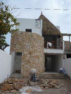 Yucatan beach construction - Telchac Puerto Mexico. www.casayucatanconstruction