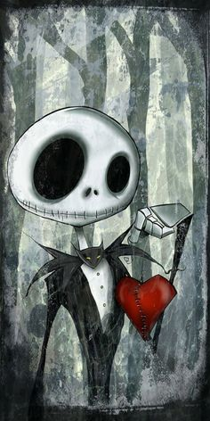 My dearest friend, if you don't mind I'd like to join you by your side were we can stare into the stars and sit together now and forever. For it is plain as anyone can see, we're simply meant to be.  - Jack Skellington