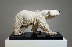 ceramic polar bear- no info available   **I Likey**