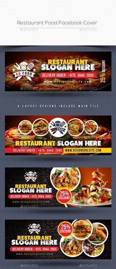 Food Graphic Design, Food Menu Design, Restaurant Mexicano, Restaurant Recipes, Banner Design, Layout Design, Facebook Cover Design, Covers Facebook, Foods For Abs