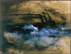 victor hugo mer   Victor Hugo, Les Travailleurs de la mer : Gros temps, la Durande, c ...