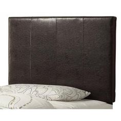 Volt Twin 39-inch Faux Leather Headboard Only - Overstock™ Shopping - Big Discounts on Headboards Dark gray