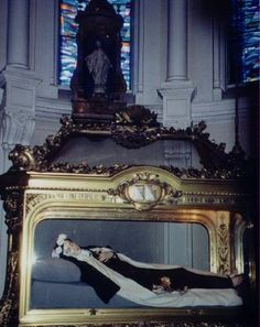 The Relics of St Therese Photo - The Carmel, Lisieux, France