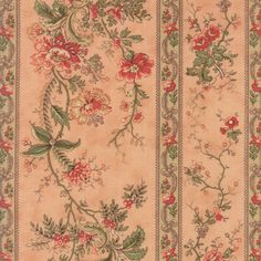 """""""Floral Blooming Trellis Pink""""-Courtyard by 3 Sisters for Moda"""