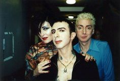 "Siouxsie Sioux, Budgie (drum in ""siouxie & the banshees"") and Marc Almond (soft cell)"