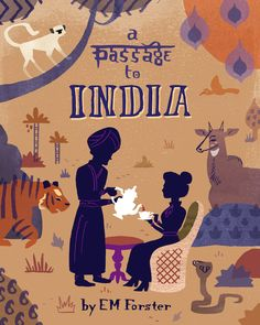 A Passage to India by Alexander Vidal, via Behance