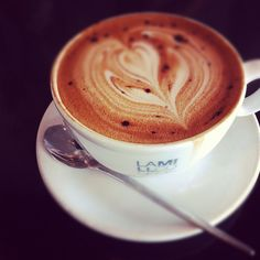 Cookies & Cream coffee at LaMill in LA.