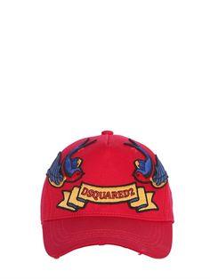 BIRD PATCHES CANVAS BASEBALL HAT Baseball Hats 67dfab339d2
