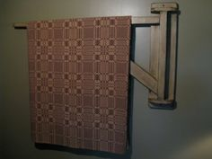 Simply Prim: Blanket Crane Tutorial- has drawings so you can build one.  LOVE IT