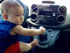 Driving a Citroën is a breeze! #Citroën #Kids