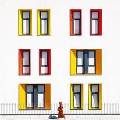 Colorful Architecture Photography in Istanbul – Fubiz Media