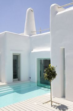 Summer House in Paros Cyclades, Greece by Alexandros Logodotis