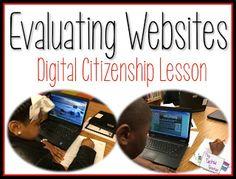Evaluating Websites Lesson